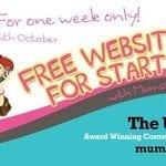 Free websites for start ups