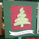 Cricut Christmas Cards (top tip)