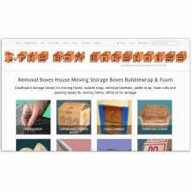 The Box Warehouse Website