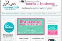 MumsClub Website design