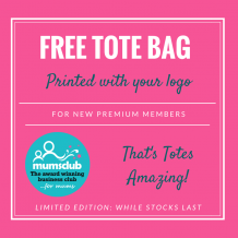 Free Tote Bags for new members