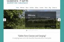 Gables Farm website