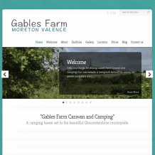 Gables Farm website