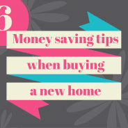 6 money saving tips when buying a new home