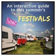 Interactive festival map