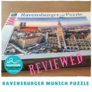 Ravensburger – Munich 1000 piece puzzle review