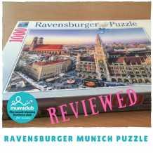 Ravensburger – Munich 1000 piece puzzle review