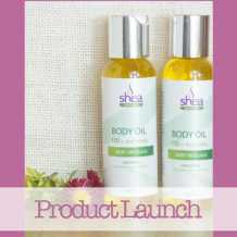 Mum launches Natural Body Oil Range for mums!